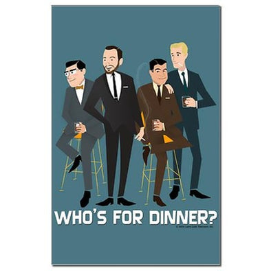Mad Men Philanderers Mini Poster Print