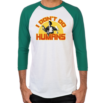 Ace Ventura I Don't Do Humans Men's Baseball T-Shirt