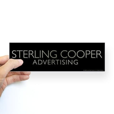 Mad Men Sterling Cooper Bumper Sticker