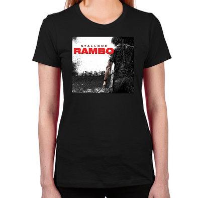 Rambo Battlefield Women's T-Shirt