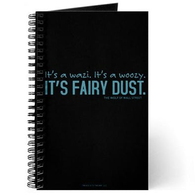 Wolf of Wall Street Fairy Dust Journal