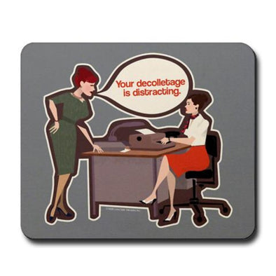 Joan Holloway Decolletage Mousepad