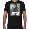 Daryl Silver Portrait Fitted T-Shirt