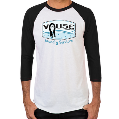 Vause Laundry Men's Baseball T-Shirt