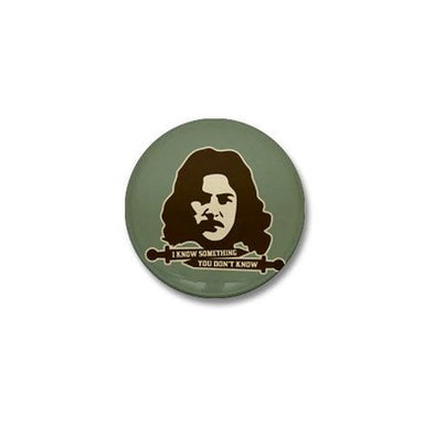 Inigo Montoya Knows Something Mini Button