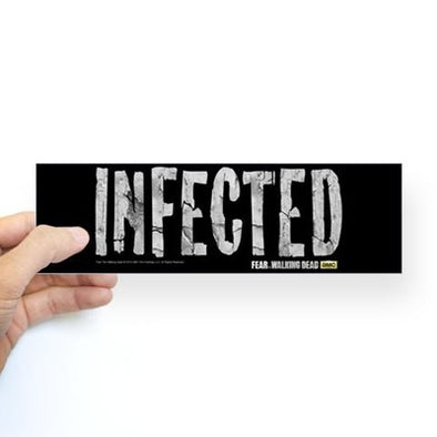 Infected Bumper Sticker