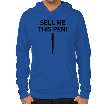 Wolf of Wall Street Sell Me This Pen Hoodie