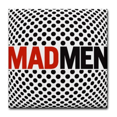 Mad Men Pop Art Tile Coaster
