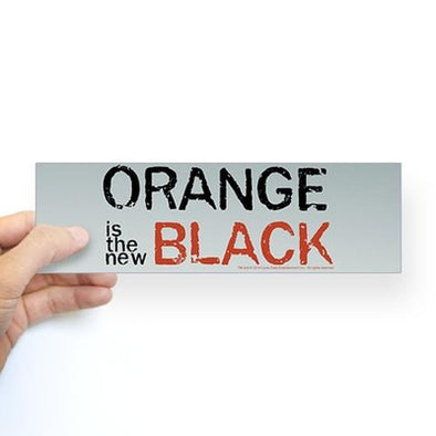 Orange Is The New Black Bumper Sticker