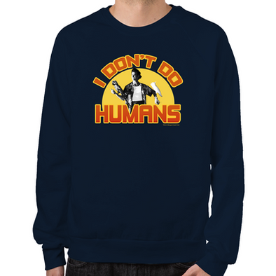 Ace Ventura I Don't Do Humans Sweatshirt