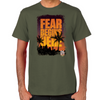 FTWD Fear Begins Here Men's T-Shirt