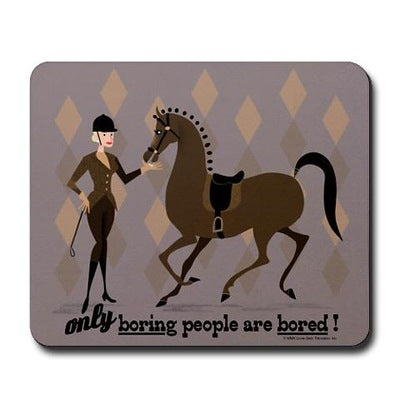 Betty Draper Bored Mousepad