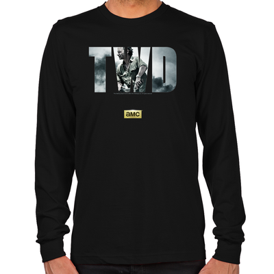 TWD Rick Grimes Men's Long Sleeve T-Shirt