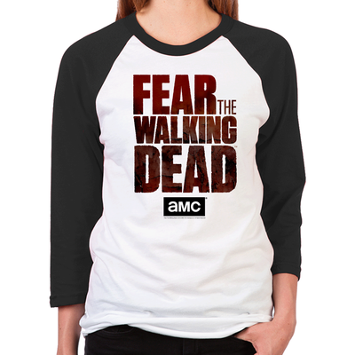 Fear The Walking Dead Women's Baseball T-Shirt