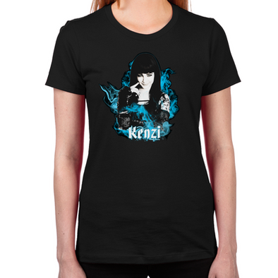 Lost Girl The Kenz Women's Fitted T-Shirt