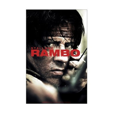 Rambo Close Up Mini Poster