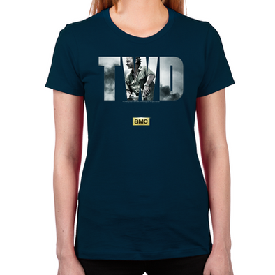 TWD Rick Grimes Women's Fitted T-Shirt