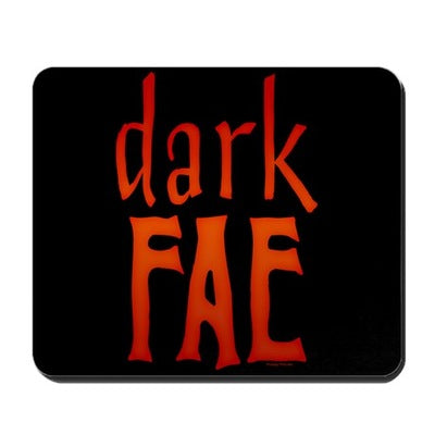 Lost Girl Dark Fae Mousepad