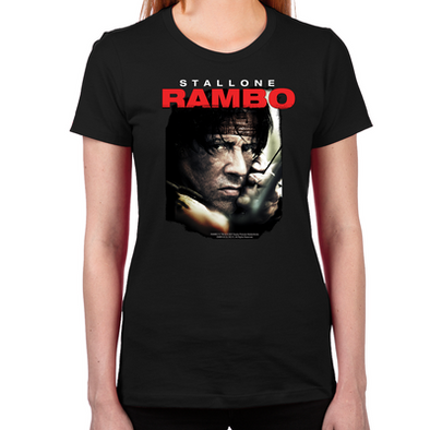 Rambo Close Up Women's T-Shirt