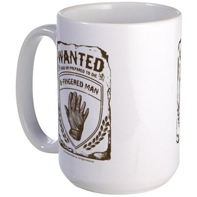 Six Fingered Man Large Mug