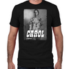 Carol Silver Portrait Fitted T-Shirt
