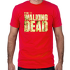 The Walking Dead Logo Fitted T-Shirt