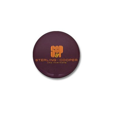 SCP Mad Men Logo Mini Button