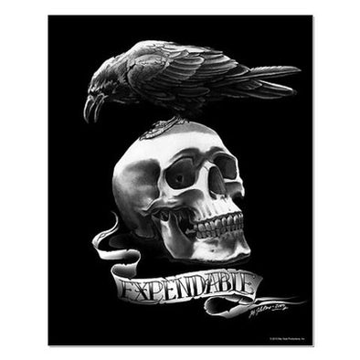 Skull Tattoo Small Poster