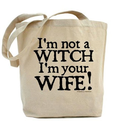 Witch Wife Tote Bag