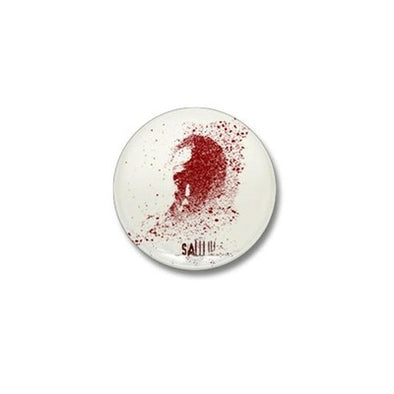 Saw Splatter Mini Button