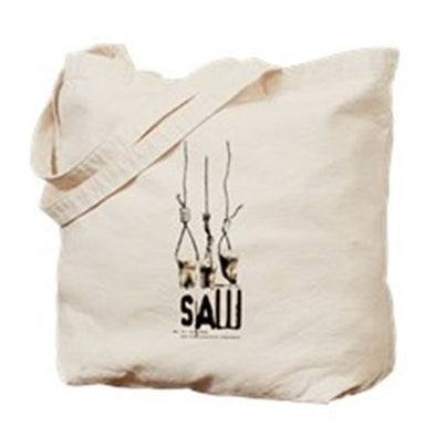 Saw Pulling Teeth Tote Bag