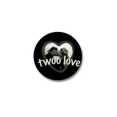 Twoo Love Mini Button
