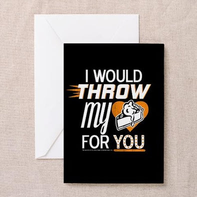 Throw My Pie for You Greeting Card