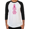Keep Calm and Find Twoo Wuv Men's Baseball T-Shirt