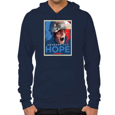 Walking Dead Abandon All Hope Hoodie