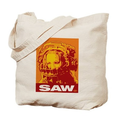 Saw Trap Tote Bag