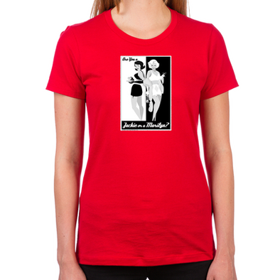 Jackie or Marilyn Women's Fitted T-Shirt