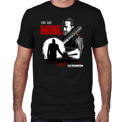 Negan You Are Mine Fitted T-Shirt