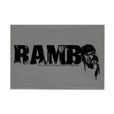 R is for Rambo Magnet