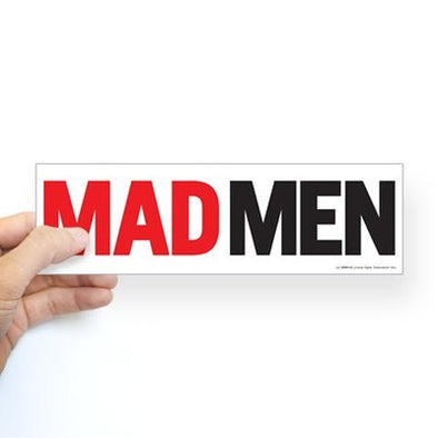 Mad Men Logo Bumper Sticker
