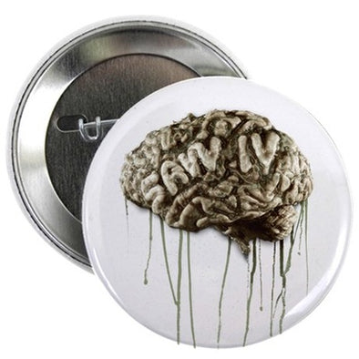 Saw Brain Button