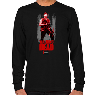 Daryl Dixon Crossbow Long Sleeve T-Shirt