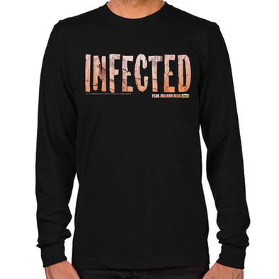 FTWD Infected Long Sleeve T-Shirt