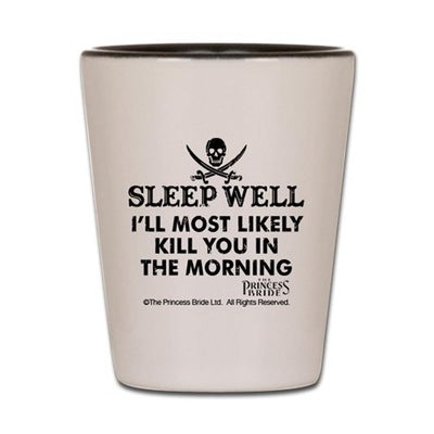 Sleep Well Shot Glass