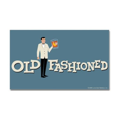 Old Fashioned Mad Men Sticker