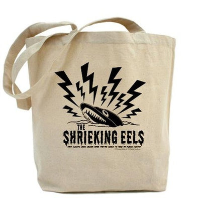 Shrieking Eels Tote Bag