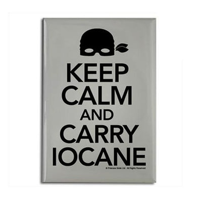 Princes Bride Keep Calm and Carry Iocane Magnet