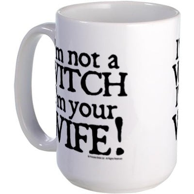 Witch Wife Large Mug
