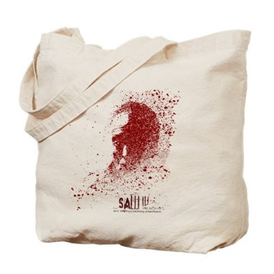 Saw Splatter Tote Bag