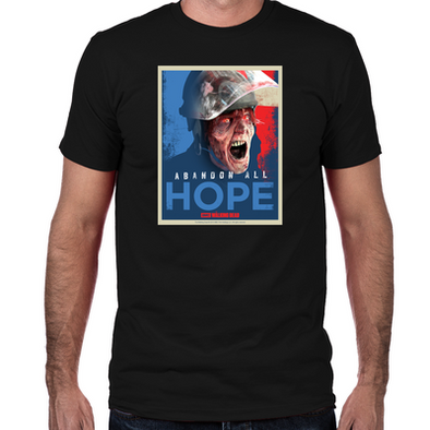 Abandon Hope Fitted T-Shirt